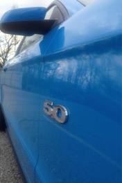 5.0 Grabber Blue Mustang